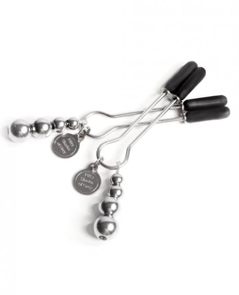 Fifty Shades Adjustable Nipple Clamps