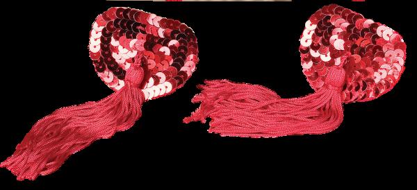 Naughty Nipple Tassels Red