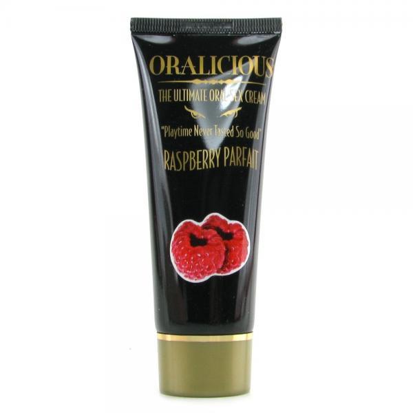 Oralicious The Ultimate Oral Sex Cream Raspberry 2oz