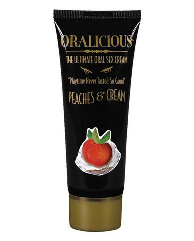 Oralicious Ultimate Oral Sex Cream 2 oz -  Peaches and Cream