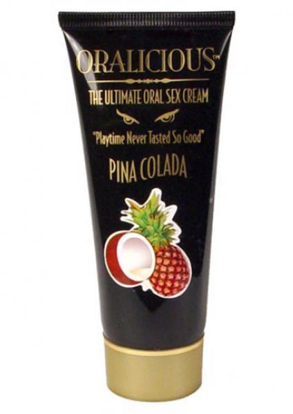 Oralicious Ultimate Oral Sex Cream 2 oz -  Pina Colada