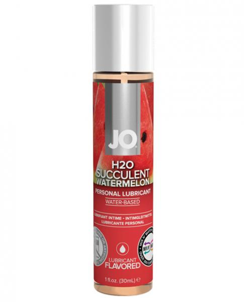 System JO H2O Flavored Lubricant Watermelon 1oz