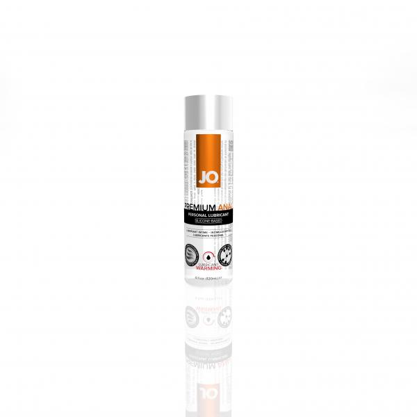 Jo Anal Premium Warming Silicone Lubricant 4 oz