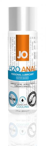 JO Anal H2O Cool Lubricant 2 oz.