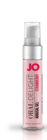 JO Oral Delight Strawberry 1oz