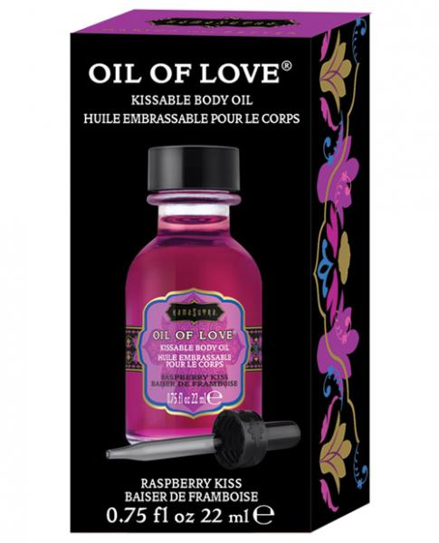 Kama Sutra Oil Of Love Raspberry Kiss .75oz