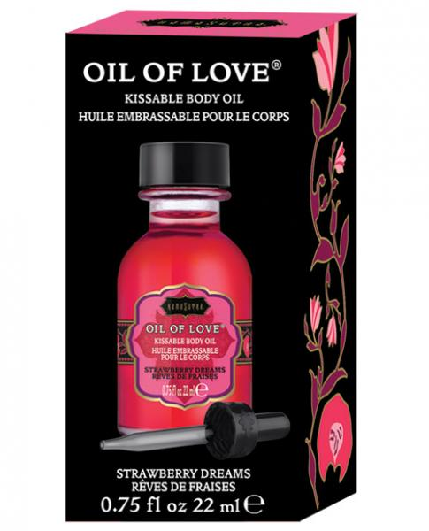 Kama Sutra Oil Of Love Strawberry Dreams .75oz