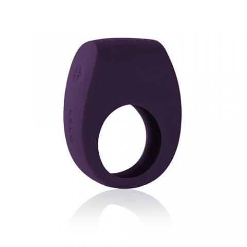 Tor II Silicone Rechargeable Couples Ring - Purple