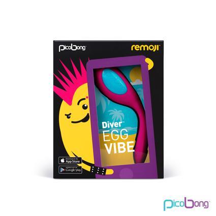 Remoji Diver Egg Vibe Cerise Pink