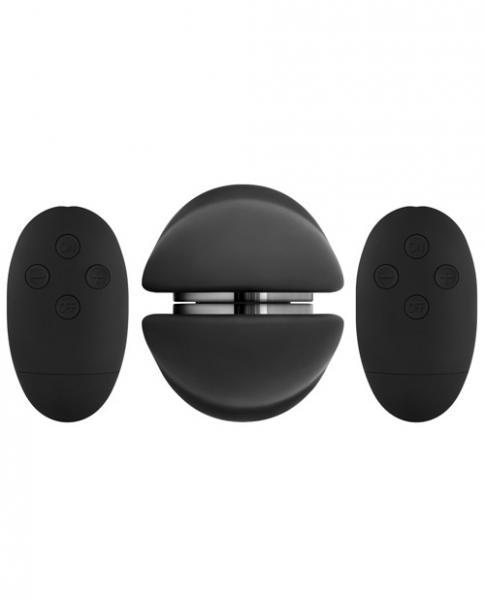 Shi Shi Union Girl Girl Scissoring Vibrator Black