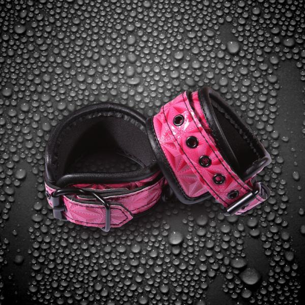 Sinful Wrist Cuffs Pink