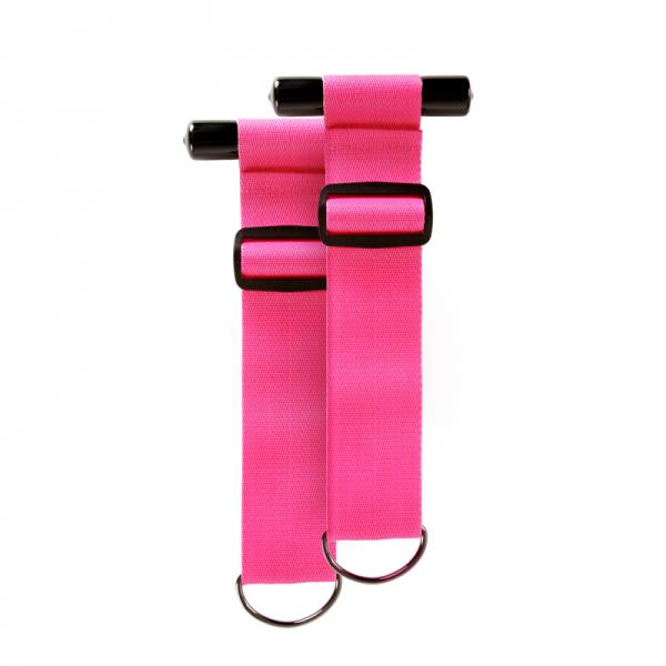 Sinful Door Restraint Straps Pink