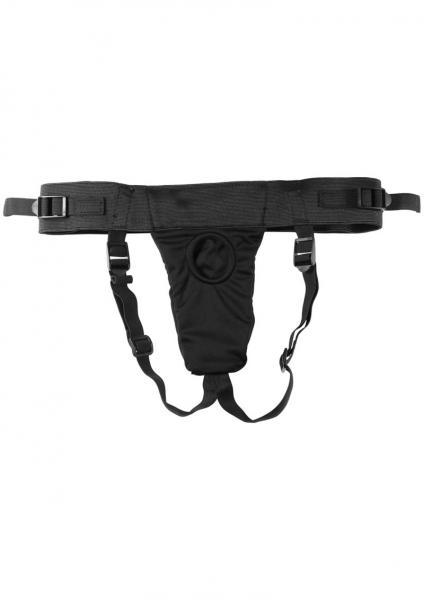 Harness The Revolt Adjustable Strap On - Black