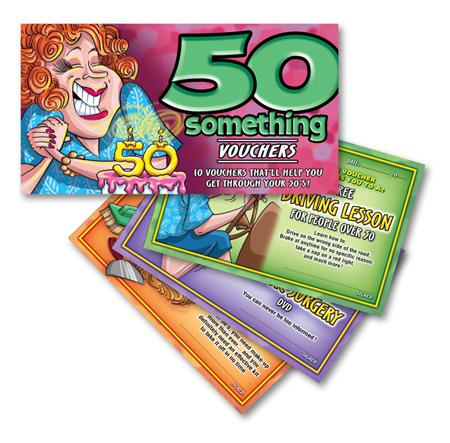 50 Something Vouchers For Her Extras OZ07049