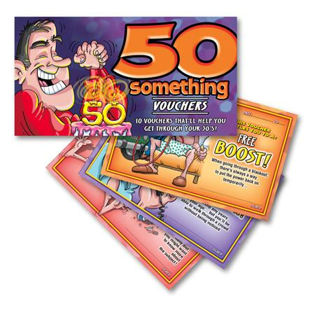 50 Something For Him Vouchers Extras OZ07051