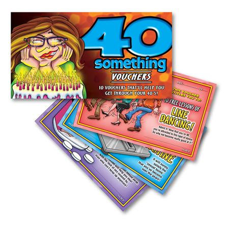 40 Something Women Vouchers Extras OZVB10