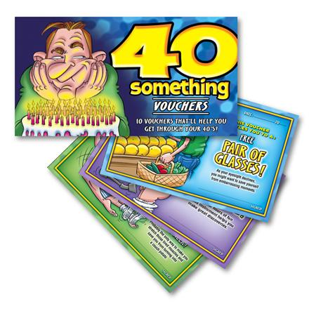 40 Something Men Vouchers Extras OZVB11