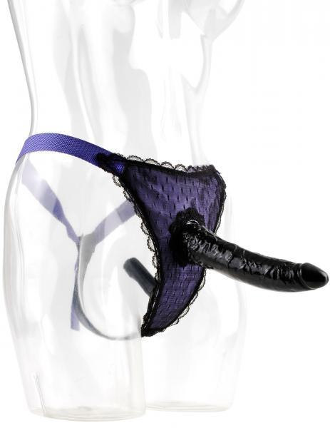 Remote Control Fantasy Strap On Purple/Black