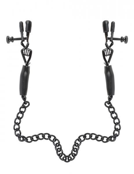 Fetish Fantasy Adjustable Nipple Chain Clamps