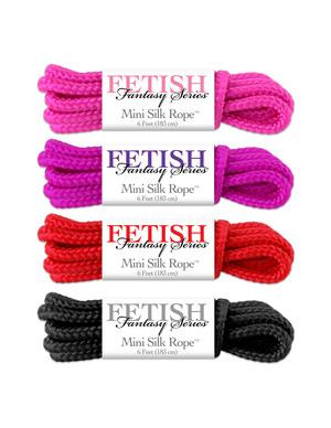 Fetish Fantasy Mini Silk Rope Sampler