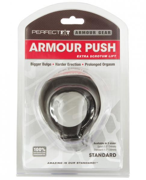 Armour Push Standard Size Black
