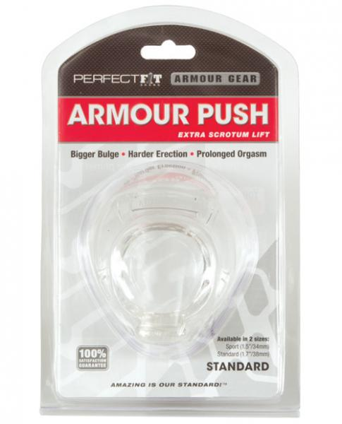 Armour Push Standard Clear Ring