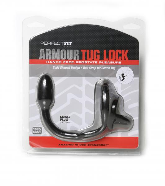 Perfect Fit Armour Tug Lock Small Black
