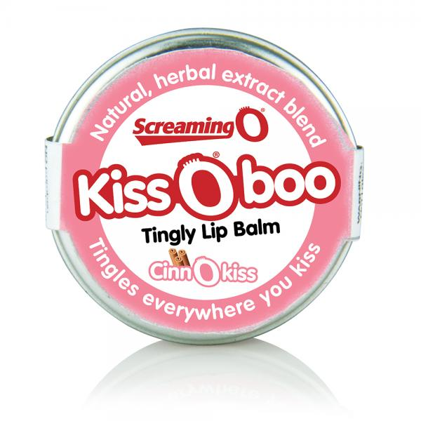 KissOboo Tingly Lip Balm Cinnamon .45oz Tin