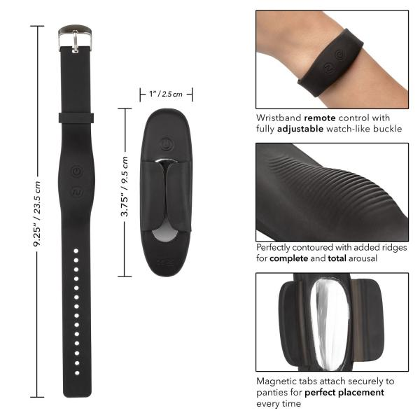 Lock N Play Wristband Remote Panty Teaser