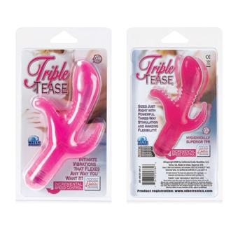 Triple Tease Pink