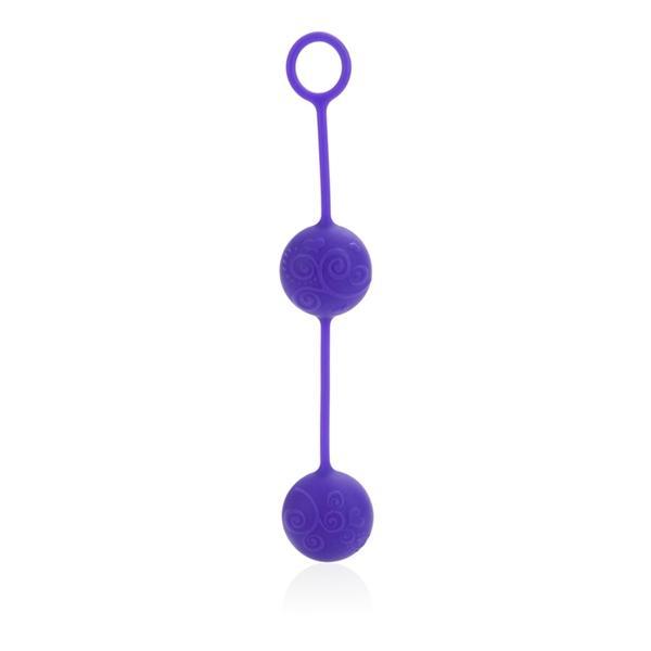 Silicone O Balls - Purple