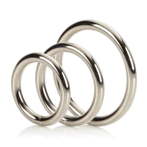 Silver O Ring 3 Piece Set