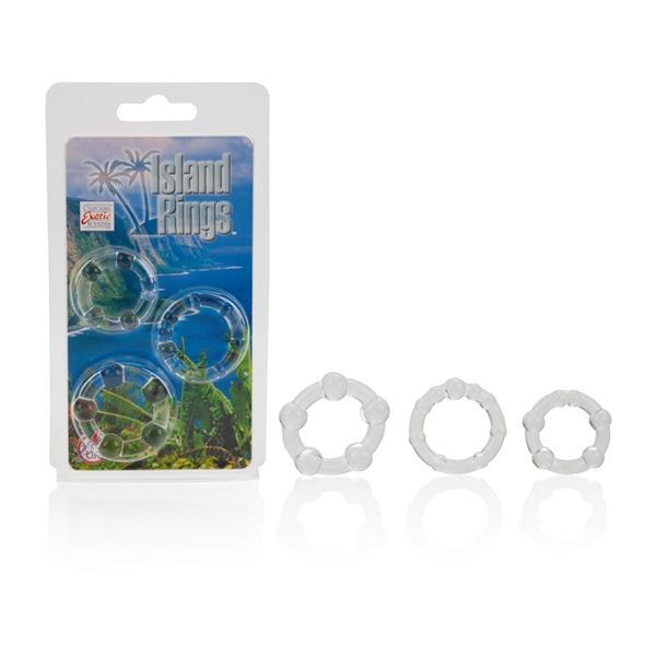 Island Rings -Clear