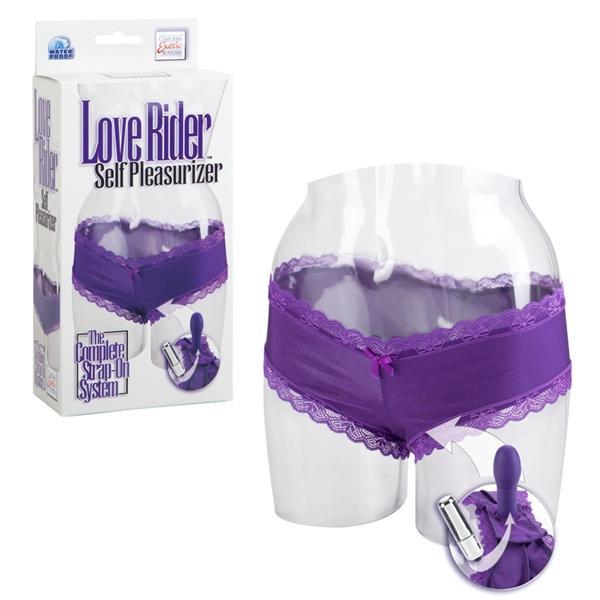 Love Rider Self Pleasurizer - Purple
