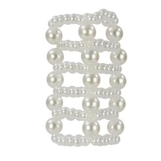 Pearl Stroker Beads Large 3""
