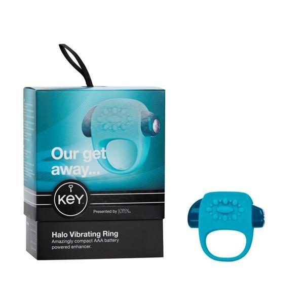 Key By Jopen Halo Ring - Robin Egg Blue