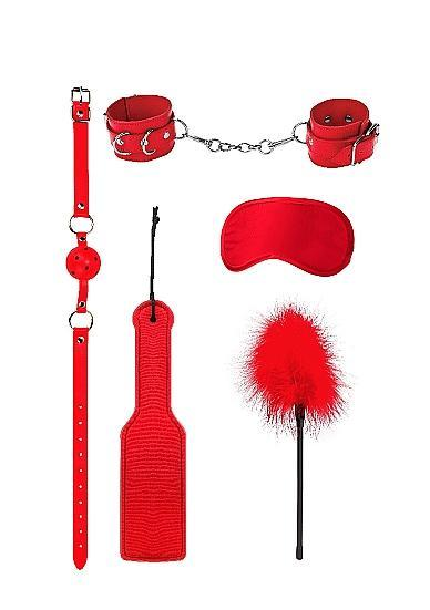 Ouch Introductory Bondage Kit #4 Red