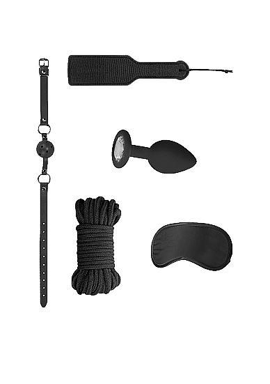 Ouch Introductory Bondage Kit #5 Black