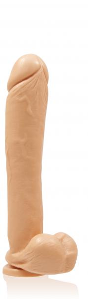 Exxxtreme Dong Suction 12 Inches Beige
