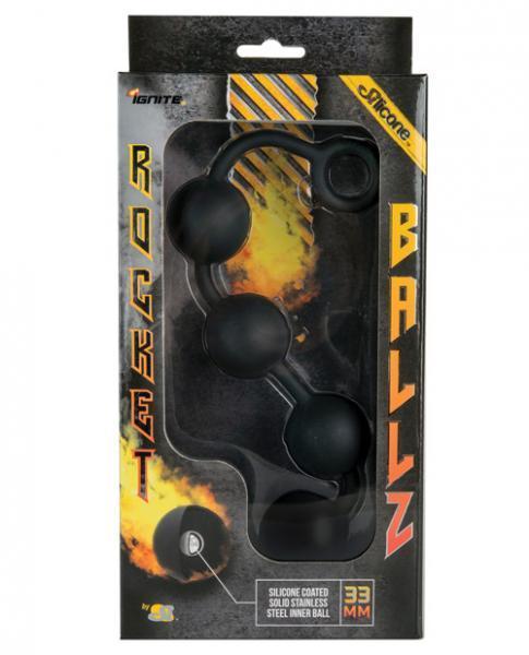 Rocket Ballz Anal Balls Black