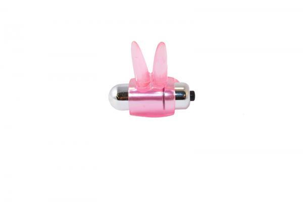 Ribbidy Rabbit Vibrating Cock Ring Pink