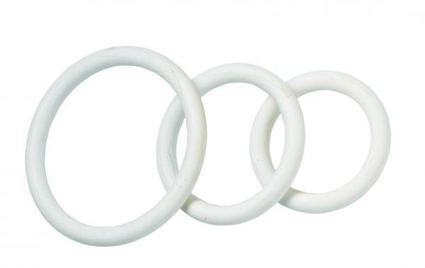 Nitrile C Ring Set - White
