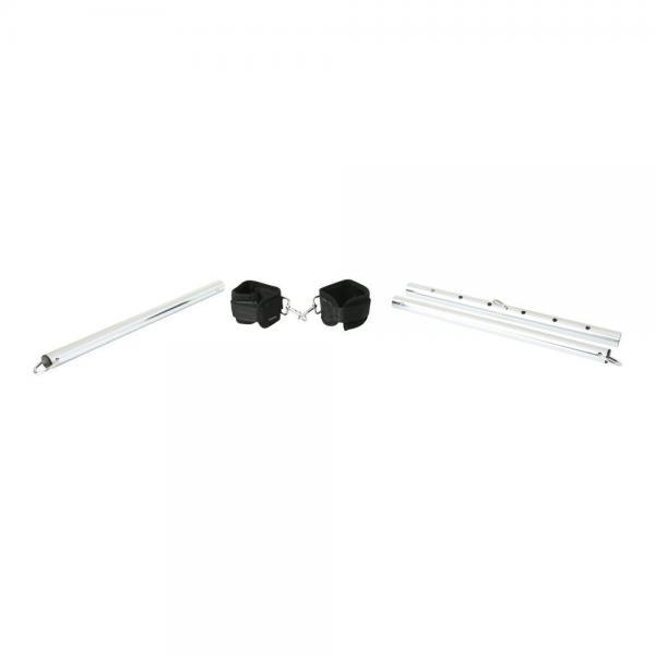 Expand Spreader Bar & Cuffs Set Aluminum Silver