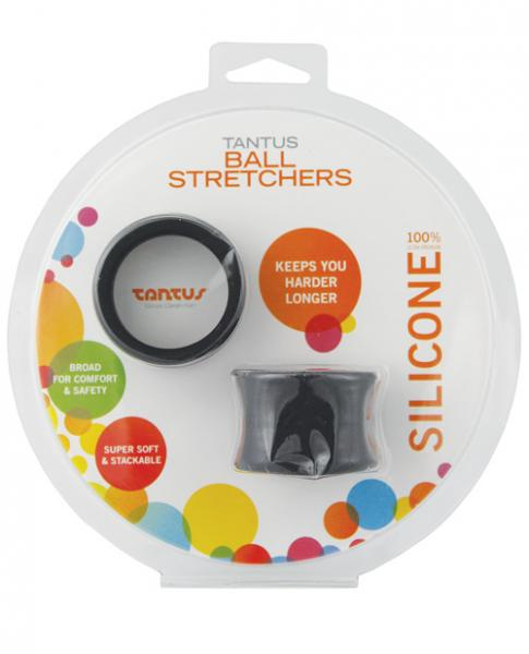 Tantus Ball Stretchers Black