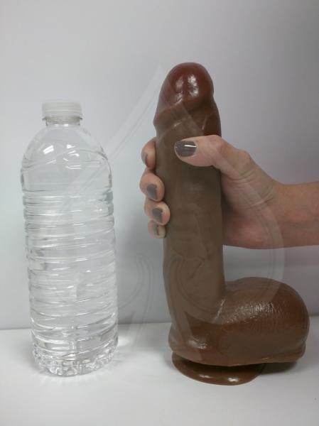 Adam's PleasureSkin Cock - Dark