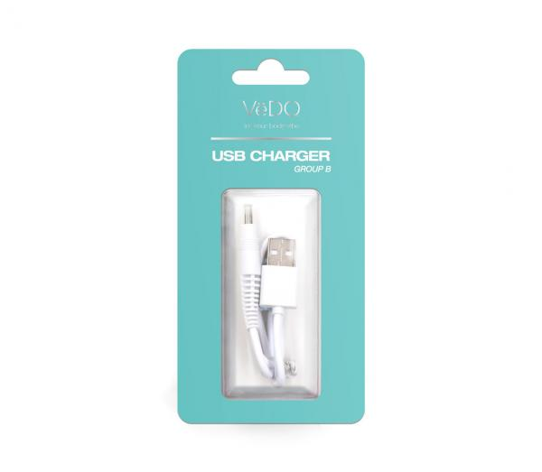 Vedo USB Charger B for Izzy, Roq, Roco, Yumi, Bump, Rockie, Kinky Plus, Kimi Vibrators