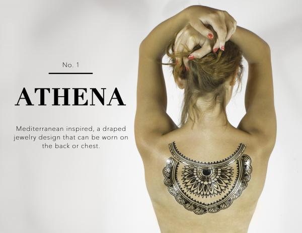 Athena Body Tattoo Sexy Wear VLBT1