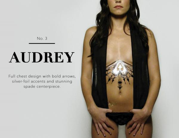 Body Tattoo Audrey