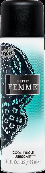 Wet Elite Femme Cool Tingle Lubricant 3oz