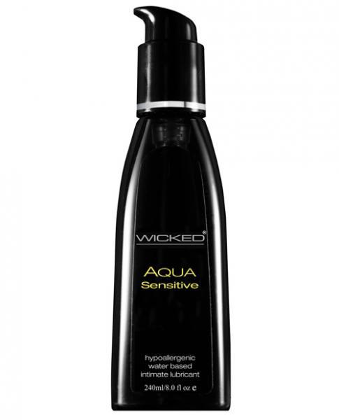 Wicked Aqua Sensitive Lubricant 8 fluid ounces